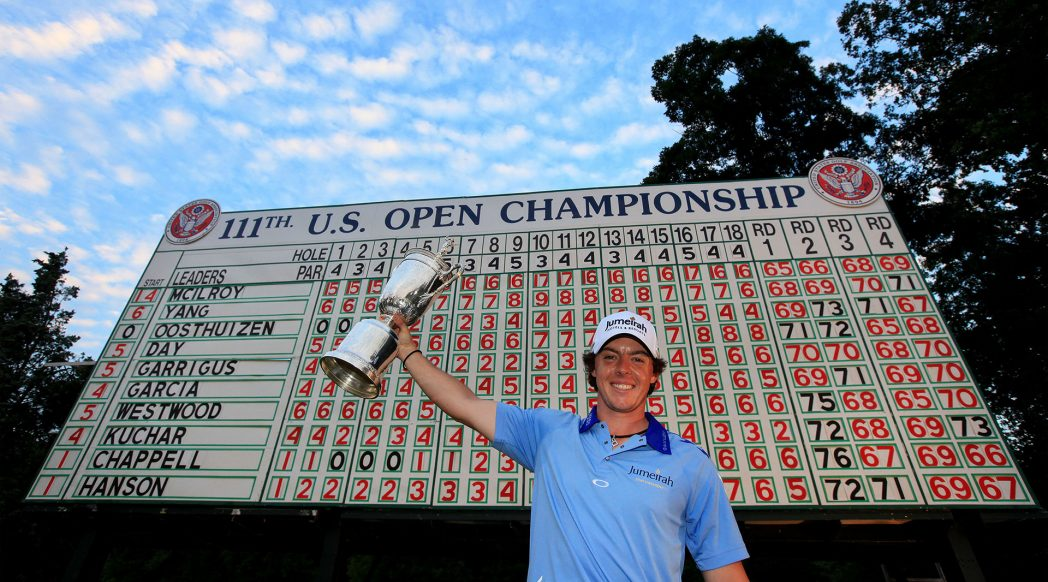 U.S. Open leaderboards: Recent Full-Field Scores