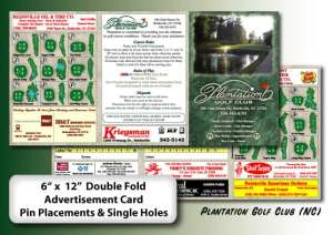 scorecards unlimited custom scorecards yardage cards
